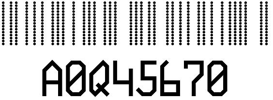 BC412 barcode