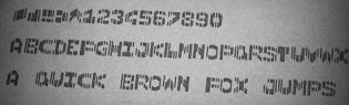 cmc7 font image ocr