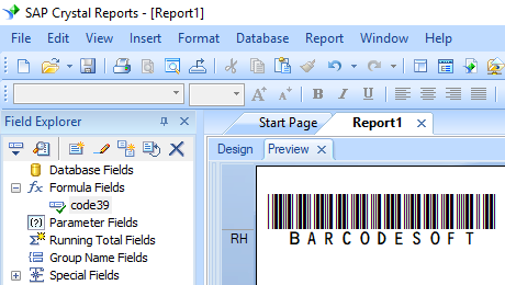 code39 barcode crystal reports