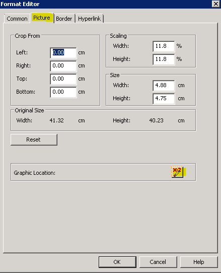 insert a barcode web service URL in crystal reports