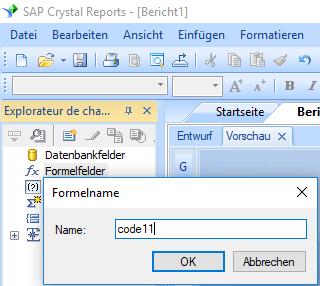 code11 barcode erstellen formel crystal reports