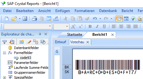 code93 barcode crystal reports