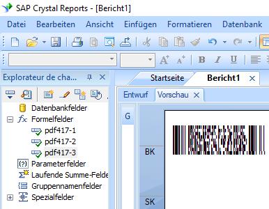 PDF417 Kristallbericht