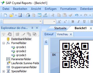 QRCode Kristallbericht