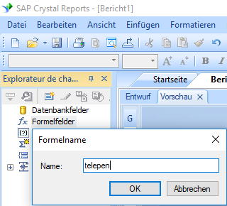 Telepen barcode erstellen formel crystal reports
