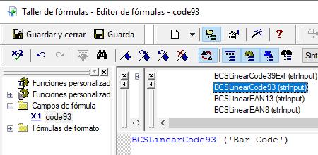 code93 código de barras crystal reports UFL