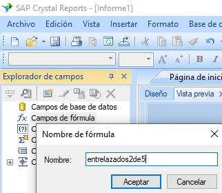 Entrelazados-2-de-5 código de barras crear fórmula crystal reports