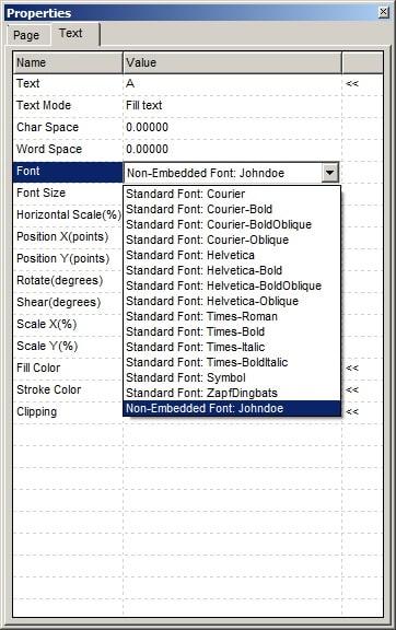 fuente firma del editor de foxit pdf