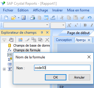 code93 code barres create formule crystal reports