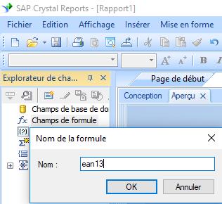 ean13 code barres create formule crystal reports