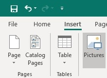 office 365 publisher toolbar
