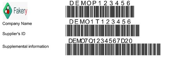 SEMI G71 barcode