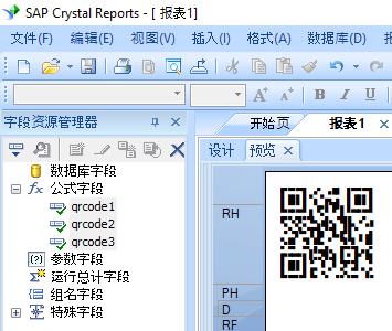 QRCode 水晶报表